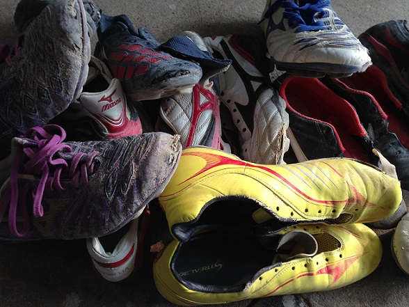 処分の靴(カウント無し) (2)
